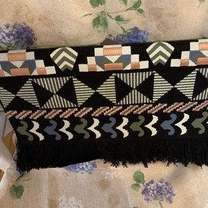 Stella & Dot Embroidered Clutch
